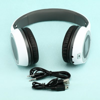 Wholesale Wireless Folding Stereo Headphone Sport MP3 Player FM TF Card Slot LED