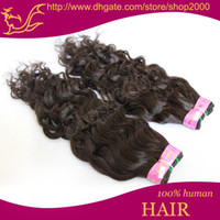 Wholesale Sample Brazilian Human Remy Hair Water Wave Cheap Price Natural Color No Sheding pc quot quot BH401