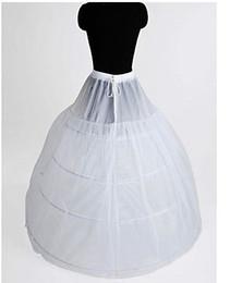 Wholesale Complementos Boda Underskirt Sottogonna Enaguas Nylon Full Gown A LineTier Floor length Slip Style Wedding Petticoats Primera Capa
