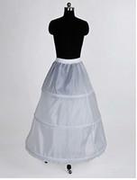Wholesale Vestido De Noiva Crinoline Nylon A Line Full Gown Tier Floor length Slip Style Wedding Petticoats Wedding Accessories