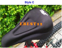Wholesale 150pcs New Hot sale Gel Cushion Bike Bicycle Seat Cover Saddle Pad Silicone SEAT New Mountain Soft Saddle Pad