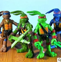 Teenage Mutant Ninja Turtles action figure values - Hot Selling Teenage Mutant Ninja Turtles color version of paragraph inch Action Figure Toy Can light Value bagged