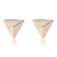 Other pyramid studs - Punk Style Rivet Pyramid Stud Earrings made with swarovski topshop ethnic bangles gu blue earring white swarovski elements