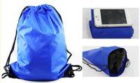 Wholesale HOT Sport Pack Lag Organizer String Drawstring Backpack Tote School Bag Bookbags