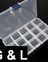 Wholesale AJ326 retails Empty Storage Case Box Cells For Nail Art Tips Gems a must for nail art