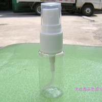 Wholesale High grade ml Transparent Plastic Spray Bottle Refillable Bottle Perfume PET Bottle with Spray Pump
