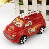 5-7 Years Fire truck Plastic 119 Fire Truck Model Diecast Cars Toys 20pcs lot