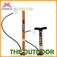 Wholesale Bike Pump Steel Plastic Size Foot Pressure Mini Portable Home Using Free Shiping Bicycle Supplies