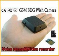 SIM Card   Mini GSM dvr camera GSM Bug GPS tracker Gsm Hidden camera Spy camera Video Recorder Voice X009