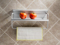 Wholesale Kitchen Storage Shelf Kitchen Storage Hold Rack Made of Aerospace Aluminium cm long Freeshipping