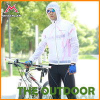 Wholesale Ultra thin raincoat cycling mountain bike raincoat professional cycling equipment Top Material jacket coat HW0091