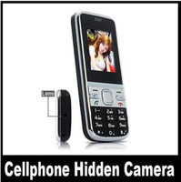 Wholesale Fashion New GB Spy Camera The First Spy Moblie Cell Phone Camera DVR Cam SC97 Long Standby