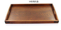 tray wooden tray - natural eco friendly wooden pallet tea tray fruit plate style