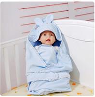 Wholesale Baby Swaddle Blanket Baby Sleeping bags Newborn baby blankets velvet