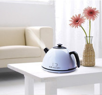 Wholesale Ultrasonic Anion Air Humidifier For Home Office Kettle Humidifier With LED Light