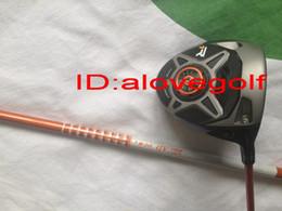 Wholesale New golf clubs TM black R1 golf driver cc face degree adjustable with japan golf shaft Tour AD DI orange stiff flex headcover tool