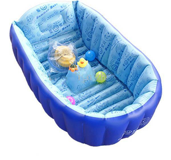 hot sale new inflatable baby bathtub baby bath tub baby bath basin portable online with. Black Bedroom Furniture Sets. Home Design Ideas