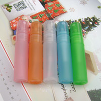 Wholesale High grade ml Colorful Plastic Spray Bottle Refillable Bottle Perfume PP Bottle with Spray Pump