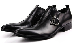 new arrivel men's shoes dress shoes with calf leather handmade men shoes