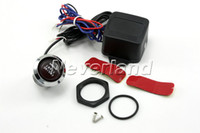 Wholesale Neverland V Car Engine Start LED Push Button Switch Ignition Starter