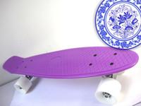Cheap 22inch Penny Board Skateboard Best Purple New Fresh PP Material Longboard