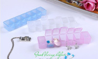 Cheap 7 Day Tablet Pill Boxes Holder Weekly Medicine Storage Organizer Container Case 16pcs lot free shipping