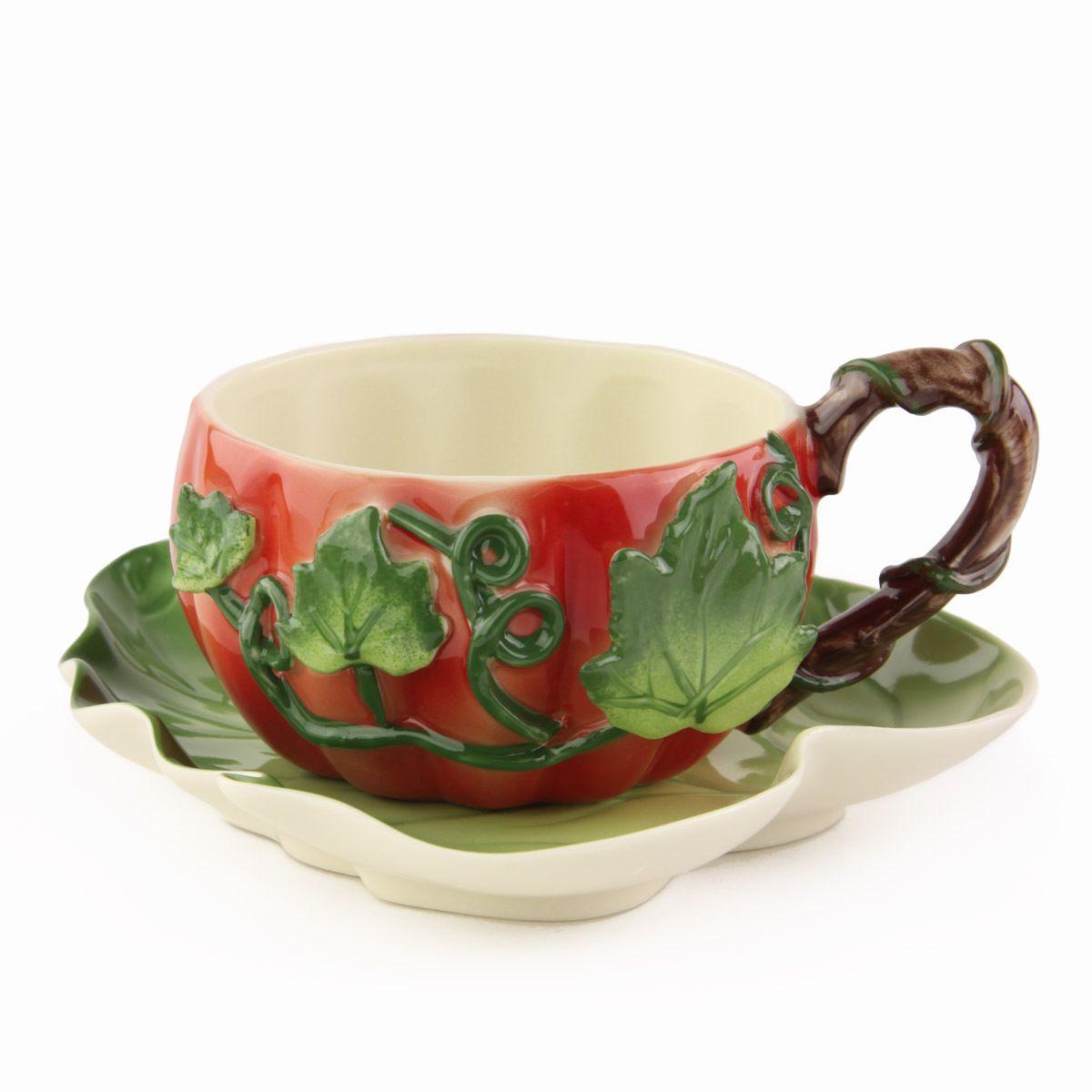 Ceramic Cups And Saucers Saucer Set Ceramic Cup And