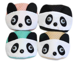 Wholesale NEW Baby Children Face Masks Kung Fu Panda Design Double Cotton Masks Kids Wear Accessories Mix Color