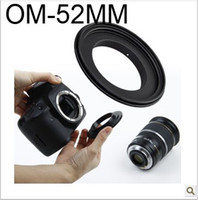 Wholesale FOR DHL tracking number MM Macro Reverse Adapter Ring For Olympus Mount