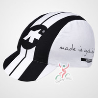 Wholesale assos brand new cycling caps Bike Riding hats for men polyester White