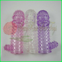 Wholesale Penis extensions silicone extender extend sleeve condoms Sex Toy Sex products