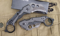 Wholesale Hot Sell New Mini DA46 Camping Pocket Karambit Knives HRC Aluminum Alloy Handle Folding Knife