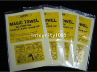 Cotton Bathroom  Magic towel used for cleaning the car, wipe computer,bath of dry hair, pet bathing 20x15x0.2cm