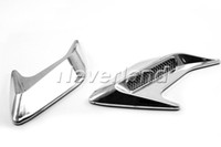 Wholesale Neverland Waterproof Truck SUV Car Chrome Air Flow Intake Side Vent Grille Trim Kit