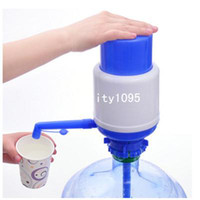 Wholesale Practical amp Gal Hand Press Pump for Water Bottle Manual Drinking Tap Dispenser Y826