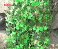 air potato - 2 M sweet potato watermellon Malus spectabilis leaves vine leaves air conditioning wall decoration rattails encryption