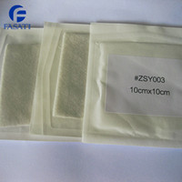 Wholesale 100pc cm cm Alginate dressing wound packing absorbent surgical medical calcium bedsore burn sodium dental alginate dresssing