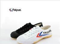 Wholesale Feiyue Ultra light canvas sneaker shoes for Men and Women for Kung fu martial arts and casual sport Classic White