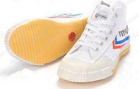 Wholesale Feiyue Sneaker Shoes for Men and Women for Martial Arts Kung Fu Wushu Tai Chi Barefoot Classic Black High Top