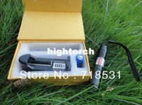 Blue 5000mw laser - 5000mW nm high powered focusable Violet Blue Laser Pointer Purple laser torch Burn Matches Light Cigarettes free shippping
