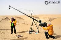 crane - 27 Foot Pan Tilt Head kilo Camera Crane Jib Arm Jibs Inch Monitor Kit