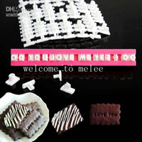 Wholesale Hot Sale Retail Alphabet Letters Symbols Number Cookie Biscuit Stamp Cutter Mold Mould Tool Sets With colorful Box Brigitte Keks sets