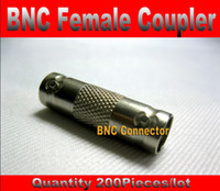 Wholesale CCTV RG59 BNC Coupler Female to BNC Female Coupler Adapter Connector for CCTV Security Camera