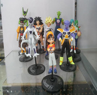 Wholesale New arrival High quality Japan Anime Dragon Ball Z PVC Action Figure Toys set Approximately CM