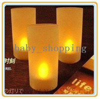 Wholesale Multicolour Battery Operated LED Candle Light Change Color Night Light
