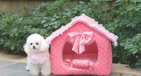 achat en gros de maison princesse animaux-Exemple de chenil / Pet Nest Pad / Pet Litter / Dog House / Princess House L177