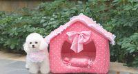 al por mayor princesa mascotas de la casa-Orden de la muestra Kennel / Nido de mascota Pad / Pet Litter / Dog House / Princesa House L177