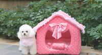 Wholesale Sample Order Kennel Pet Nest Pad Pet Litter Dog House Princess House L177