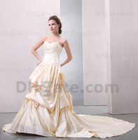 online store - 2013 Beach Wedding Dresses Casual Custom Made Modern Lace Sweetheart Beading Empire Ankle Length Wedding Dress Bridal Gown Online Stores