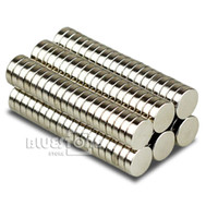 Wholesale 100 Strong Round Disc Cylinder Magnets D7 mm x mm Rare Earth Neodymium